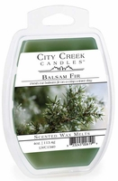 BALSAM FIR City Creek 4 oz Scented Wax Melts by Candle Warmers