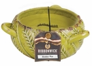 BAMBOO MIST Large Round RibbonWick Scented Candle