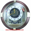 Beatles & Opening Face  - Seiko Clock QXM111GRH