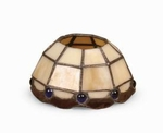 Beige Aurora  Candle Warmer Lamp Shade