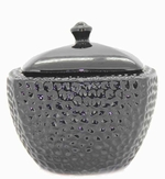 Black LONGFIRE Flamepot or Fire Pot by Pacific Decor