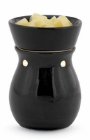 Black Round ILLUMINATION Fragrance Warmer by Candle Warmers