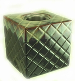 Blue Cube PatioGlo Burner or Fire Pot by Marshall Group