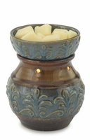 BLUE FLEUR DE LIS Illumination Fragrance Warmer by Candle Warmers