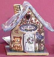 Blue Skies Candle House - Blue Sky & Clayworks