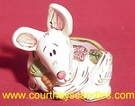 Bunny Egg Cup T-Lite Holder - Clayworks & Blue Sky