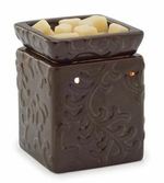 CENTURY BROWN Illumination Fragrance Warmer by Candle Warmers