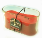CEYLON CINNAMON MEDIUM OVAL RibbonWick Scented Candle
