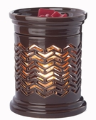 CHEVRON Illumination Fragrance Warmer by Candle Warmers