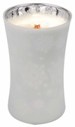 CHRISTMAS CAKE  Large Decor Glass WoodWick Scented Jar Candle