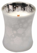 CHRISTMAS CAKE  Medium Decor Glass WoodWick Scented Jar Candle