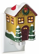 CHRISTMAS COTTAGE  Plug In Fragrance Warmer by Candle Warmers