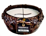 CITRUS SANCTUARY LARGE ROUND RibbonWick Scented Candle