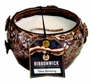 CITRUS SANCTUARY MEDIUM ROUND RibbonWick Scented Candle