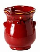 COUNTRY CROCK RED Fragrance Warmer - Wax Melter -  AmbiEscents