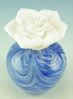 Courtneys Blue Swirl Woman of Fragrance Style Flameless Ceramic Fragrance Diffusers