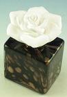 Courtneys Square Black Gold Woman of Fragrance Style Flameless Ceramic Fragrance Diffusers