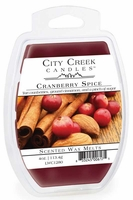 CRANBERRY SPICE City Creek 4 oz Scented Wax Melts by Candle Warmers