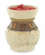 CREAM FLEUR DE LIS Illumination Fragrance Warmer by Candle Warmers