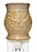 CREAM TAPESTRY PLUG IN WARMER  by A Cheerful Giver