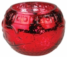 CRIMSON BERRIES ORNAMENT GLASS 10 oz WoodWick Scented Jar Candle