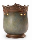 CROWN FLEUR-DE-LIS AQUA Fragrance Warmer - Wax Melter -  AmbiEscents