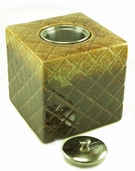 Cube PatioGlo Burner or Fire Pot by  Marshall Group