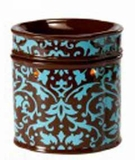 DAMASK AQUA Fragrance Warmer - Wax Melter -  AmbiEscents