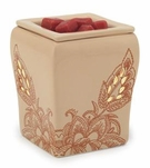 DESERT FLORA Illumination Fragrance Warmer by Candle Warmers