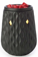 DIAMOND BLACK Illumination Fragrance Warmer by Candle Warmers
