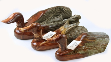 Rocky Mountain Rustic Ducks from Cedar Fence Post