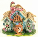 Easter Basket Cottage - Best Seller - Clayworks & Blue Sky