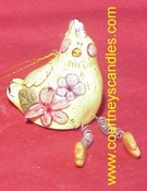 Easter Chick Snuffer - Clayworks & Blue Sky