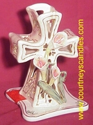 Easter Cross (Small) - Clayworks & Blue Sky