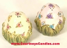 Easter Egg Salt & Pepper - Clayworks Blue Sky 2005