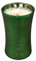 EMERALD FOREST  Large Decor Glass WoodWick Scented Jar Candle