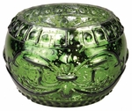 EMERALD FOREST ORNAMENT GLASS 10 oz WoodWick Scented Jar Candle
