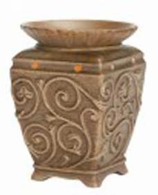 ENGLISH GARDEN Fragrance Warmer - Wax Melter -  AmbiEscents
