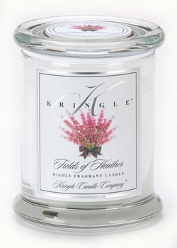 FIELDS OF HEATHER Medium  Kringle Candles 50 Hour Jar Candle