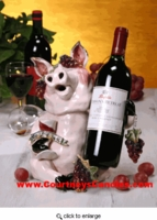 Fine Wine Swine Collection - Clayworks Blue Sky 2005