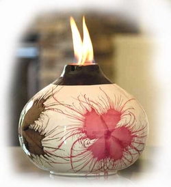 FLORAL SPLASH FIREPOT by BirdBrain