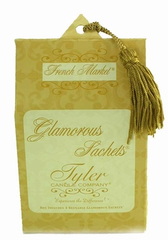 FRENCH MARKET Tyler Glamorous Sachets - Dryer Sheets