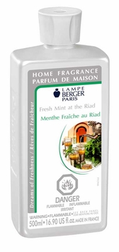 Fresh Mint At The Riad Lampe Berger Fragrance 500 Ml