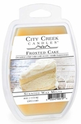 FROSTED CAKE City Creek 4 oz Scented Wax Melts by Candle Warmers