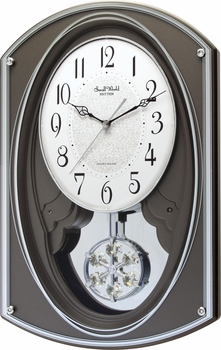 Gallant Musical Wall Clock by Rhythm Clocks