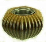 Galveston Golden Brown PatioGlo Burner or Fire Pot by Marshall Group