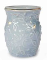 GARDEN SWIRL BLUEFragrance Warmer - Wax Melter -  AmbiEscents