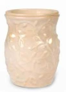 GARDEN SWIRL CREAM Fragrance Warmer - Wax Melter -  AmbiEscents