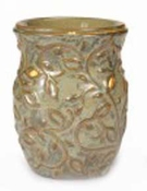 GARDEN SWIRL GREEN  Fragrance Warmer - Wax Melter by AmbiEscents