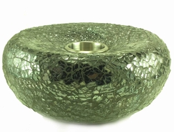Gemini Smoke Black Mosaic  Fire Accent - Fire Pot by Real Flame